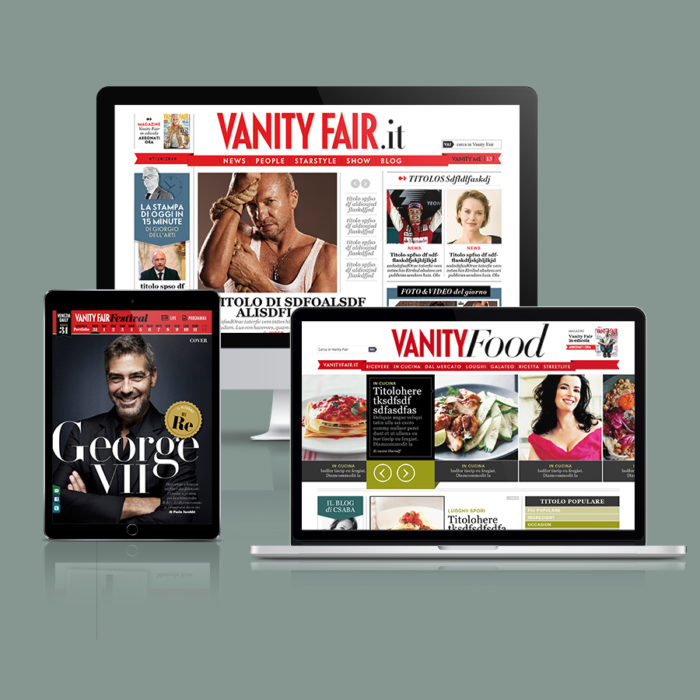 ITALIAN VANITY FAIR DIGITAL